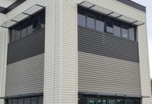 Brise Soleil Fitting to Curtain Walling