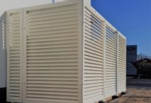 Screening Louvres