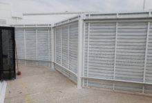 Screening Louvers